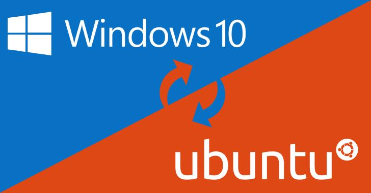 Windows 10 and Ubuntu Linux